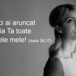 Citatul zilei: Isaia 38,17