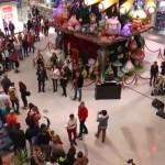 Flashmob creștin în Iulius Mall Timișoara
