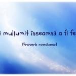 Citatul zilei: proverb românesc